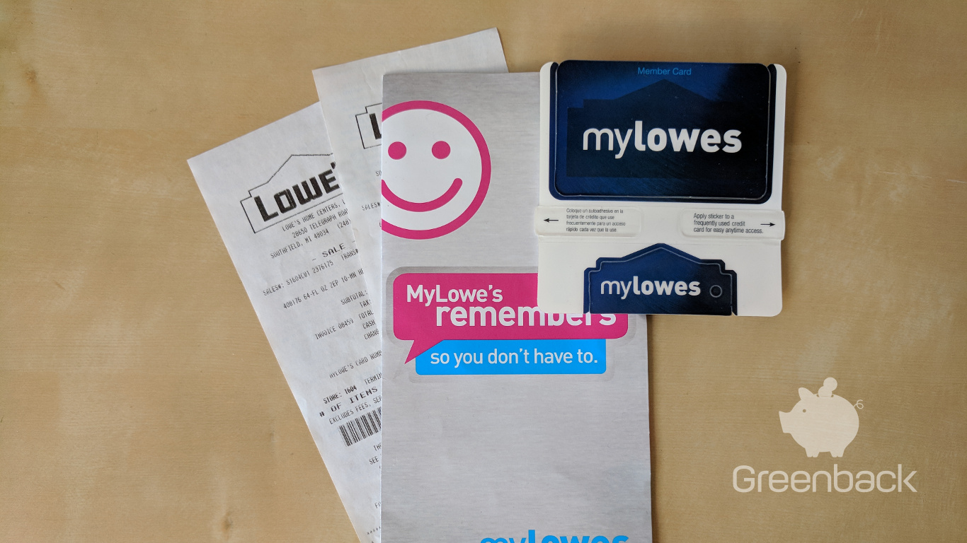 How To Automate Your Lowe's In-Store and Online Receipts