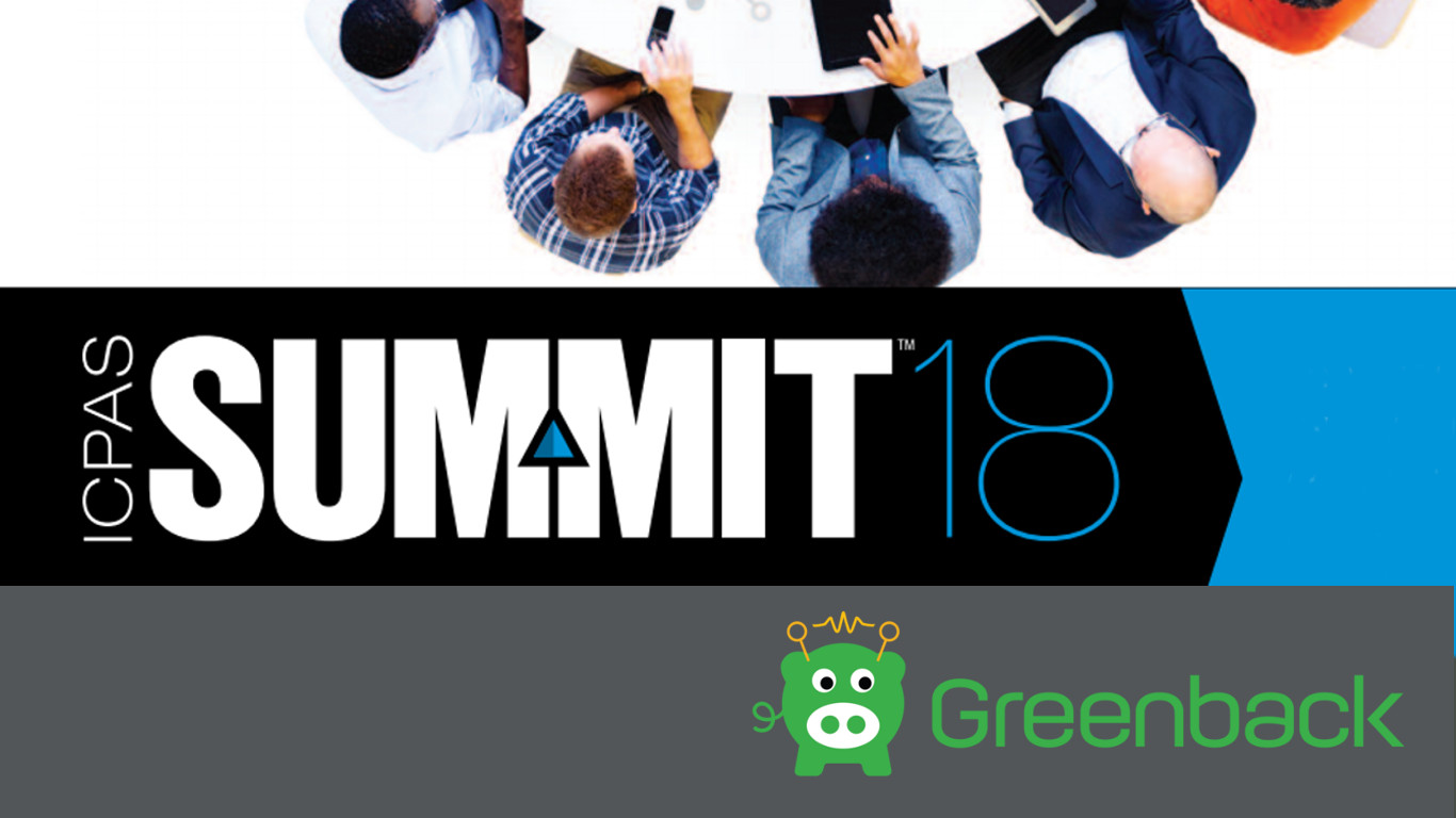 Meet Greenback at Summit18 Chicago Aug 28-29 2018