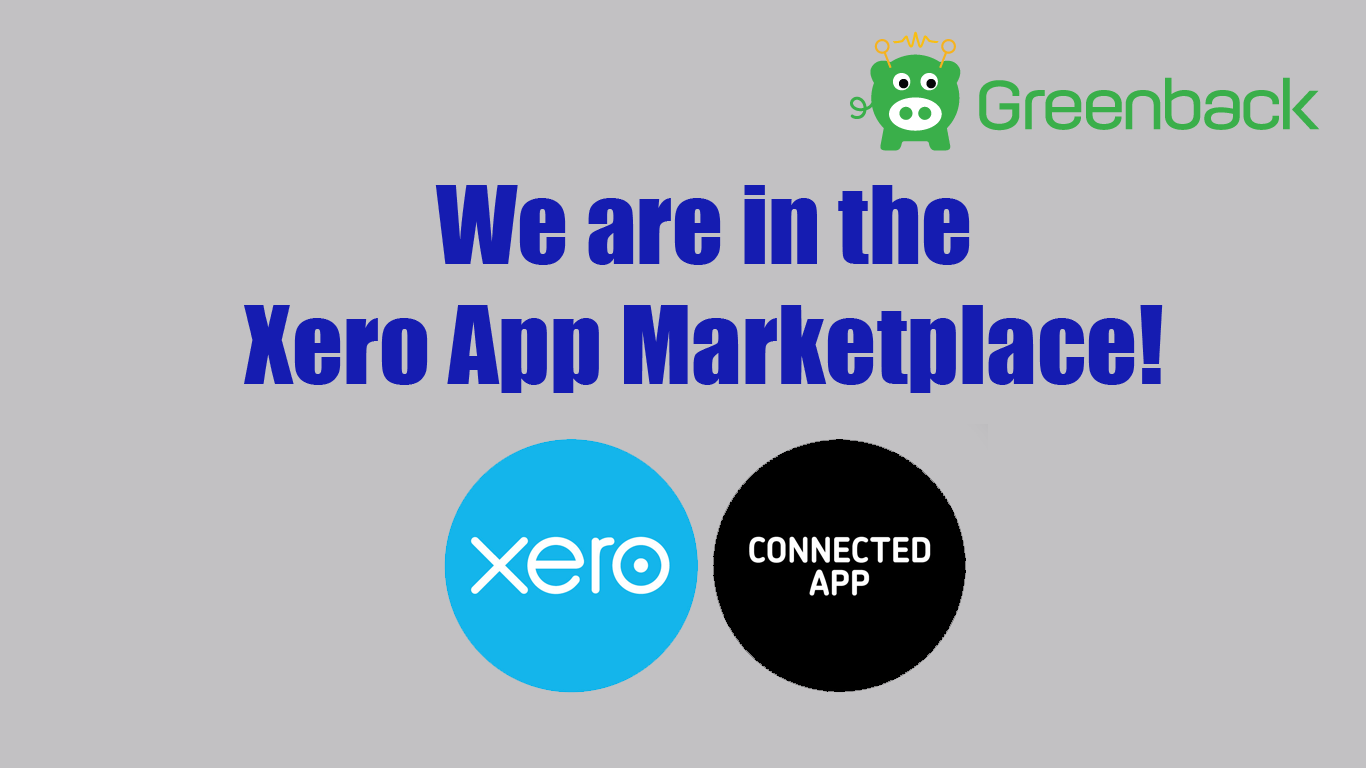 Greenback is now in the Xero App Marketplace!
