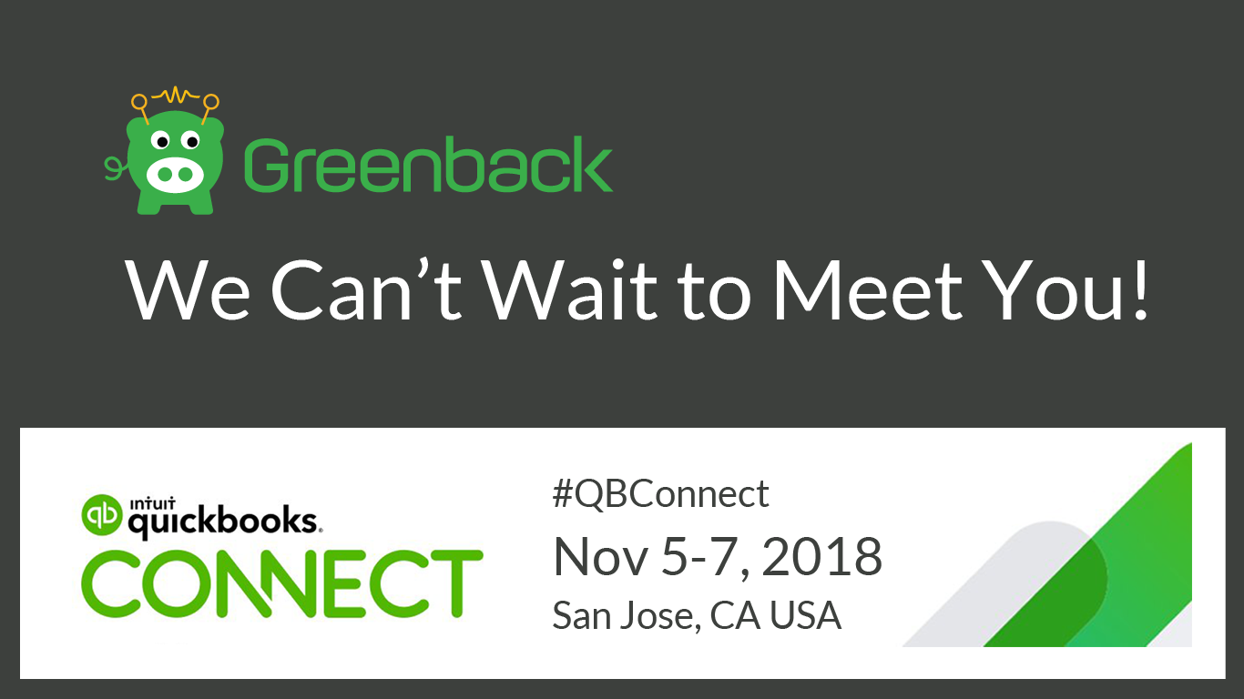 Find Us at QuickBooks Connect 2018