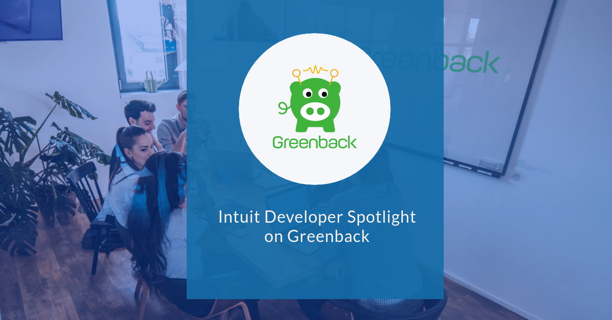 Intuit Developer Spotlight on Greenback