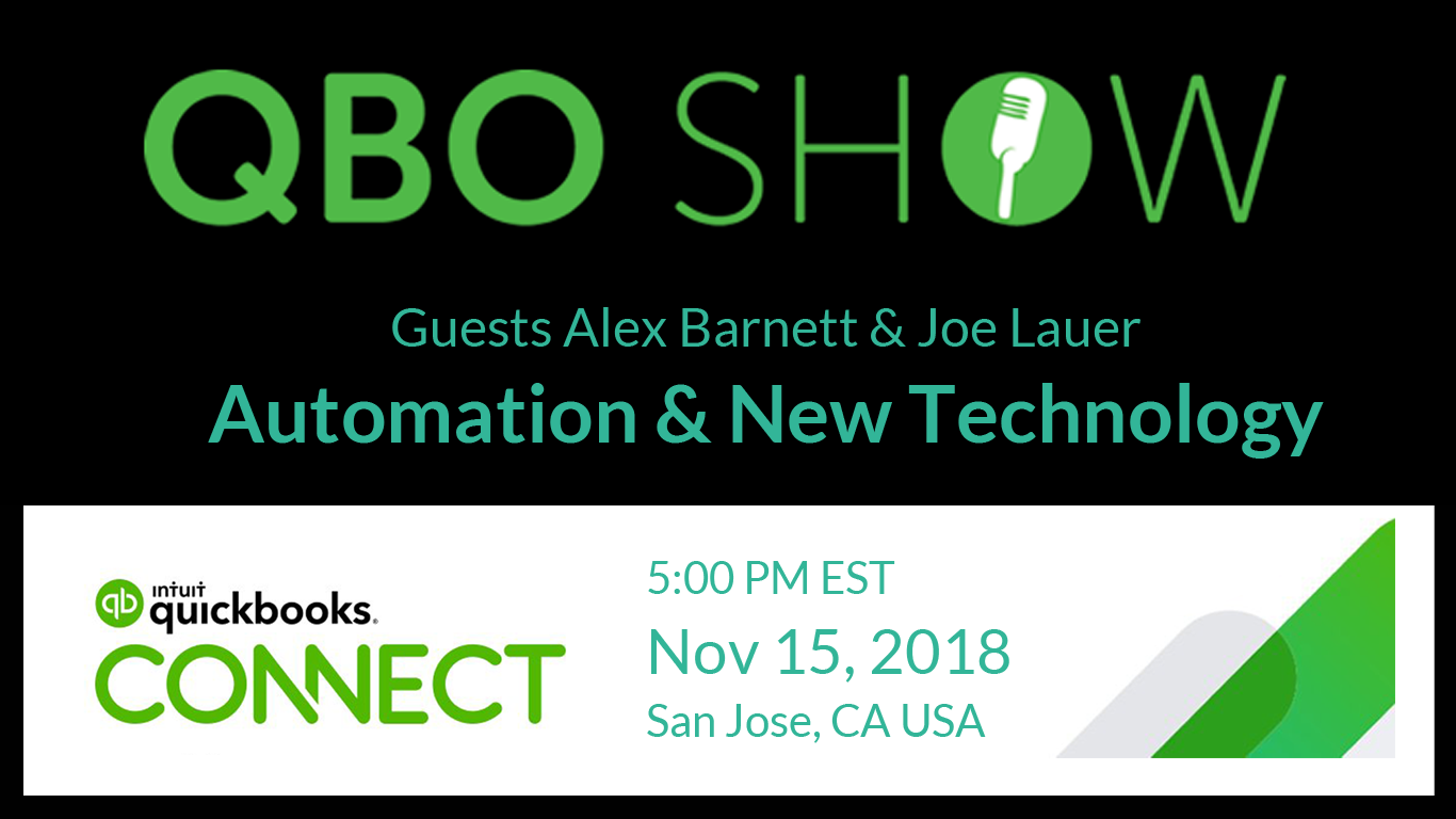 QBO Show Live: Joe Lauer on Automation and New Technology