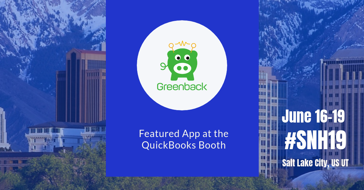 QuickBooks Featured App #SNH19 Scaling New Heights
