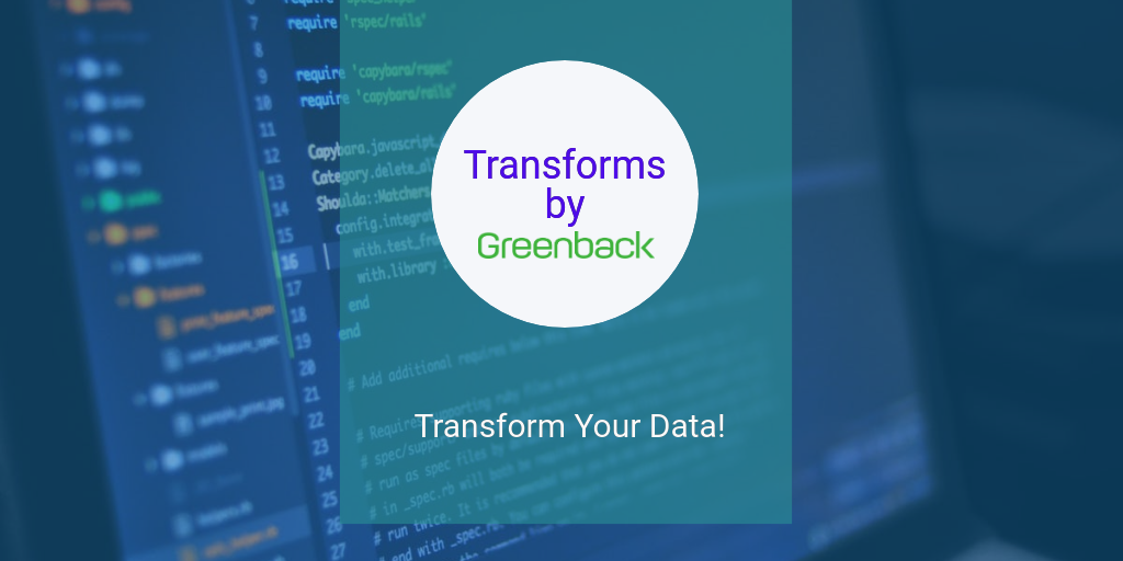 Transform Your Accounting Data with Greenback