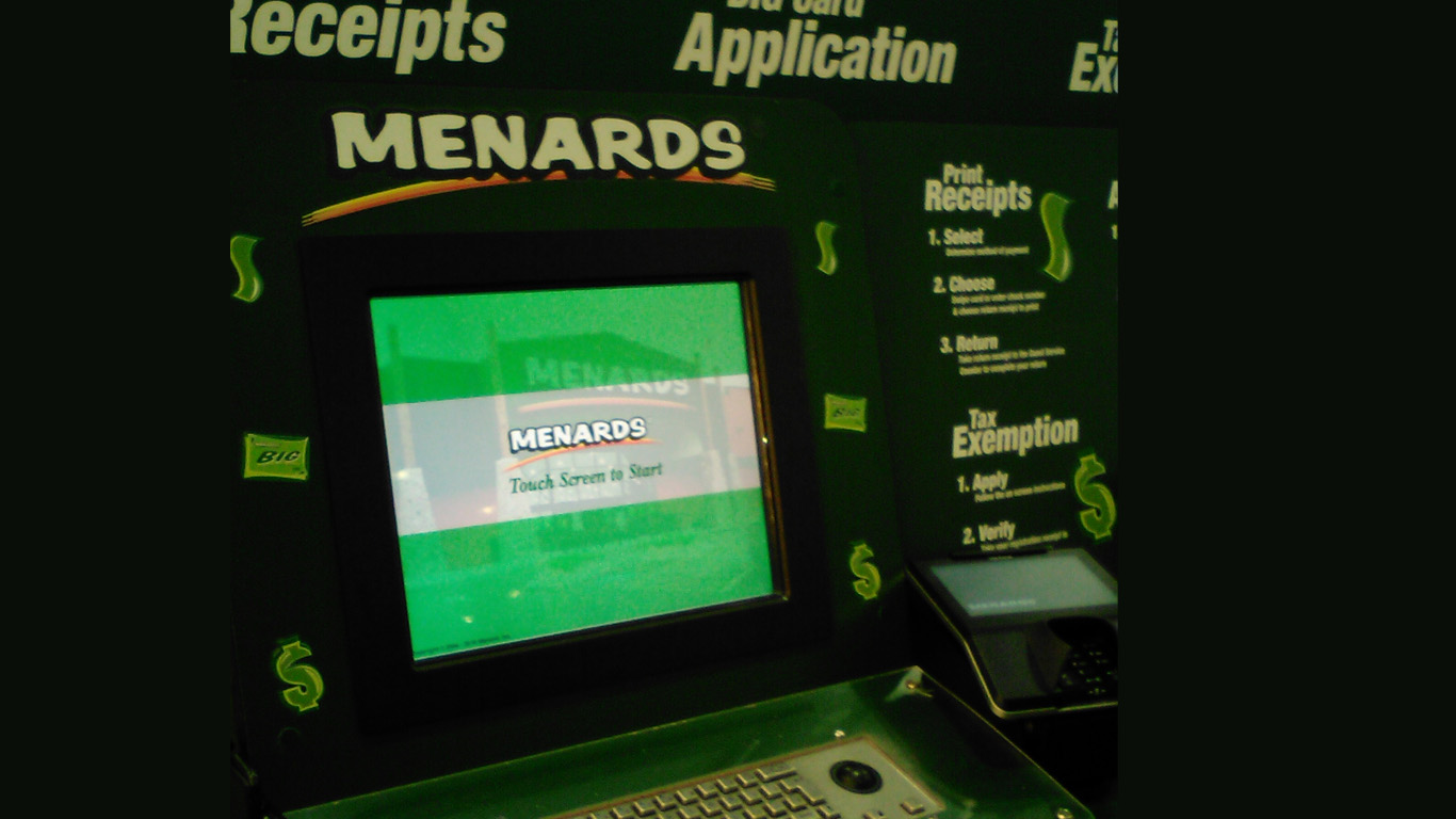 Reprint A Menards receipt at the Store or Online